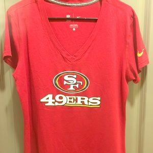 49ers Sports women's blouse